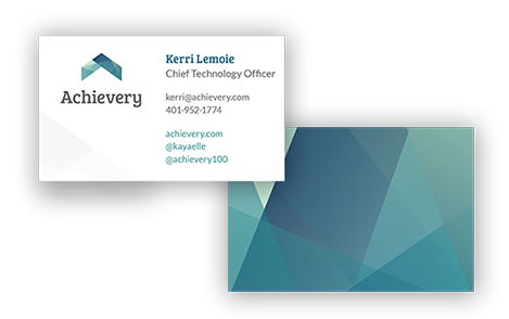 Achievery Business Card