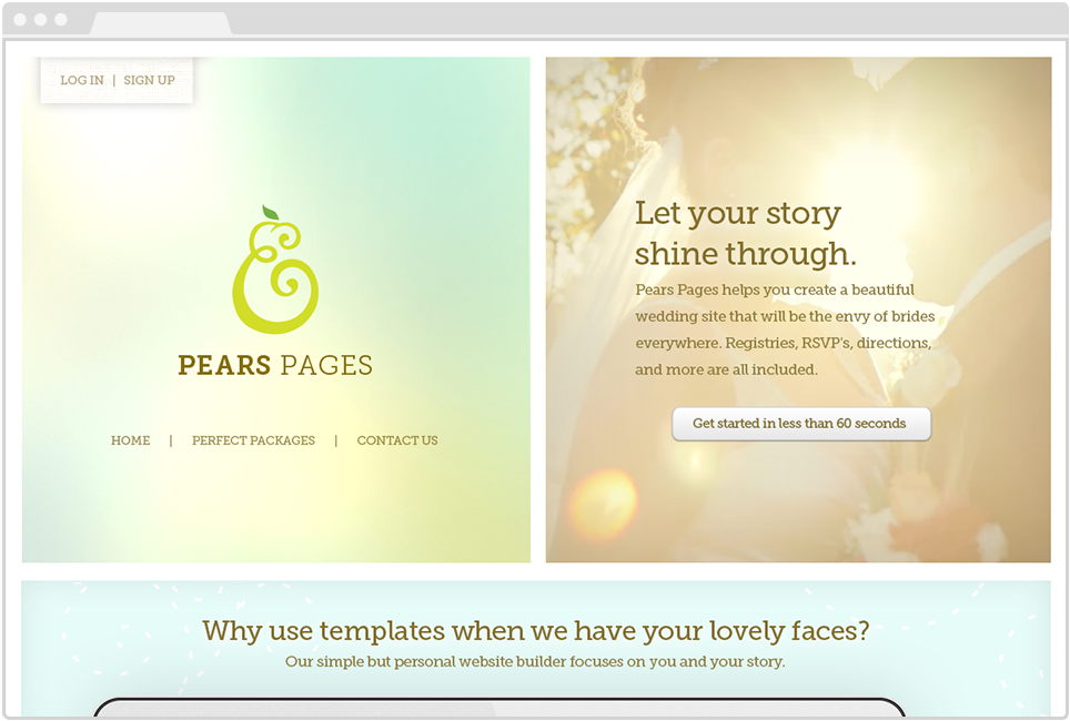 Pears Pages Marketing Website